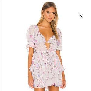 Revolve Tularosa Lydia Dress in Lilac Floral